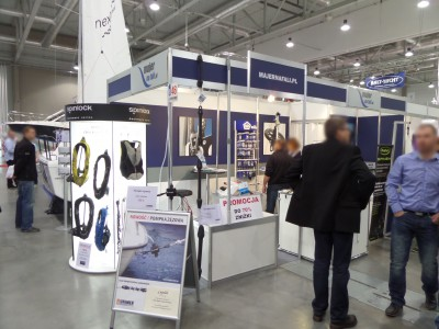 Company stand Ma-Je-R Sp. z o.o. on trade show BOATSHOW 2014