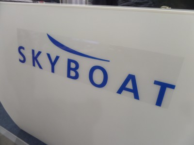 Company stand SKYBOAT on trade show BOATSHOW 2014
