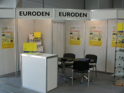 Company stand EURODEN S.R.L. on trade show FURNICA 2011