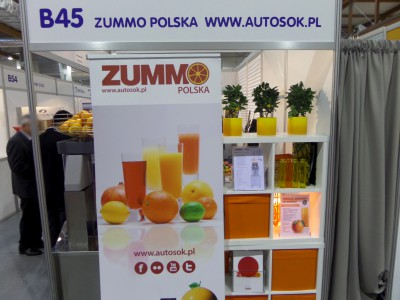Company stand Zummo Polska on trade show SPA & WELLNESS & HORECA & GASTROFOOD 2014
