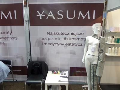 Company stand YASUMI on trade show SPA & WELLNESS & HORECA & GASTROFOOD 2014