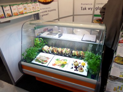 Company stand Eipro-Vermarktung GmbH & Co. KG on trade show SPA & WELLNESS & HORECA & GASTROFOOD 2014