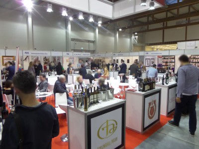 Company stand Kakhetian Traditional Winemaking on trade show ENOEXPO 2014