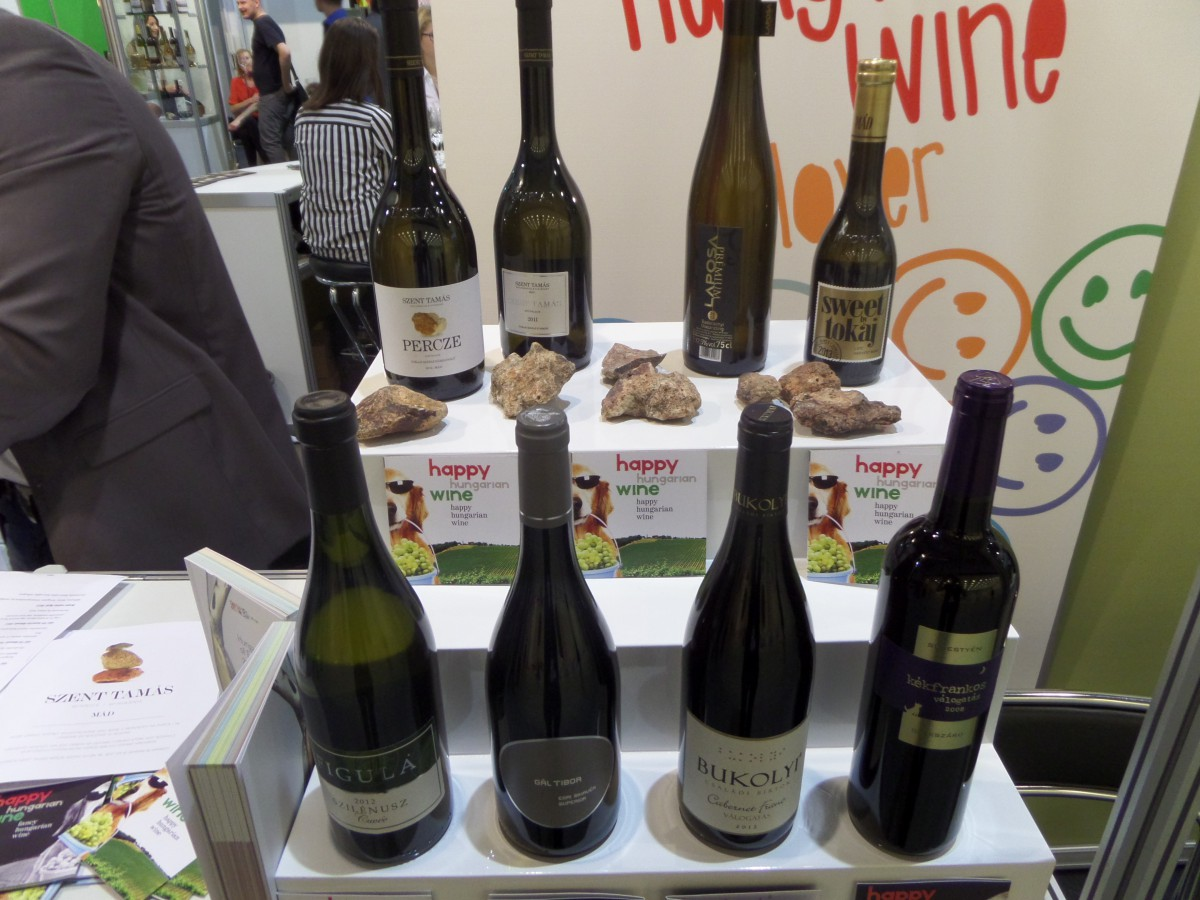 Company stand Happy Hungarian Wine (Nepier Kft) on trade show ENOEXPO 2014