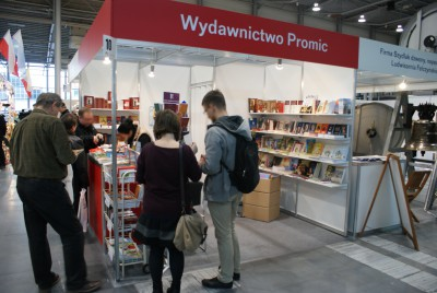 Company stand PROMIC Wydawnictwo on trade show SAKRALIA 2014