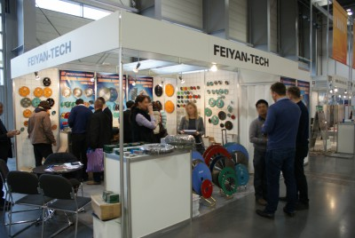 Company stand FEIYAN-TECH on trade show KAMIEN-STONE 2014
