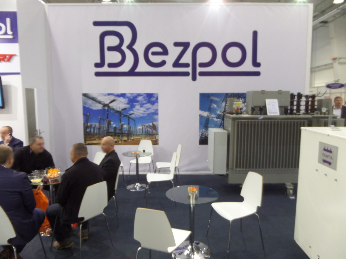 Company stand BEZPOL Sp.j. on trade show ENERGETICS 2014