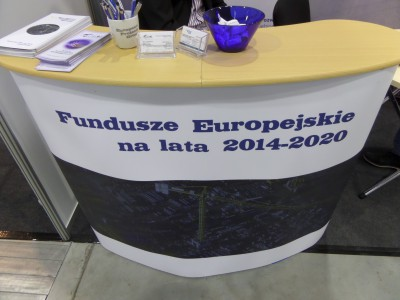 Company stand European Projects Group Sp. z o.o. on trade show ENERGETICS 2014