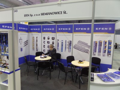 Company stand Efen Sp. z o.o. on trade show ENERGETICS 2014