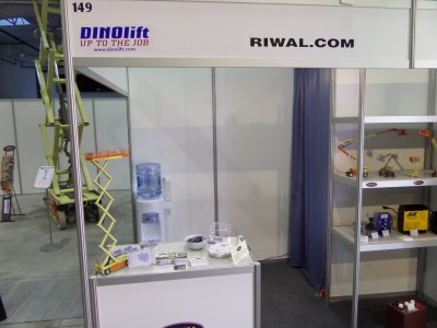 Company stand Riwal Poland Sp z O O on trade show ENERGETICS 2014