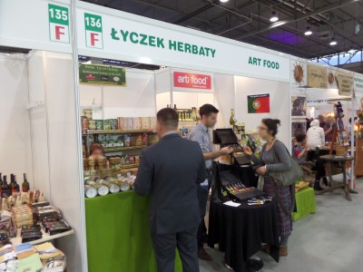 Company stand Łyczek Herbaty on trade show ECOFAMILY 2014