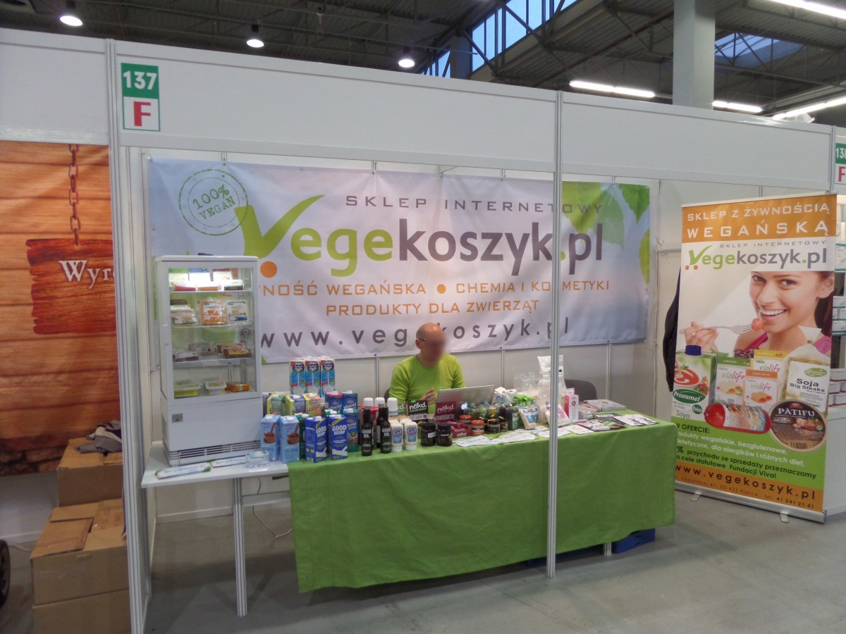 Company stand VEGEKOSZYK.PL (CALLPRO SERVICES) on trade show ECOFAMILY 2014