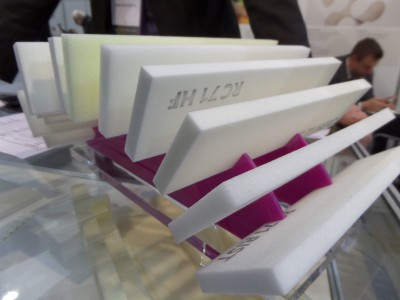 Company stand Evonik Industries AG on trade show KOMPOZYT-EXPO 2014