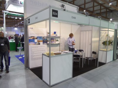 Company stand DIAB Sp. z o.o. on trade show KOMPOZYT-EXPO 2014