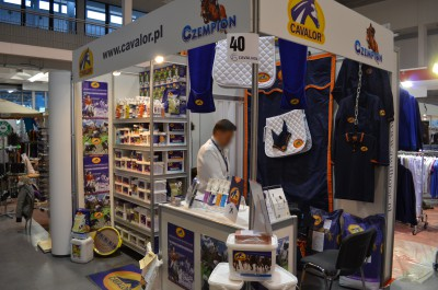 Company stand Cavalor on trade show CAVALIADA 2014