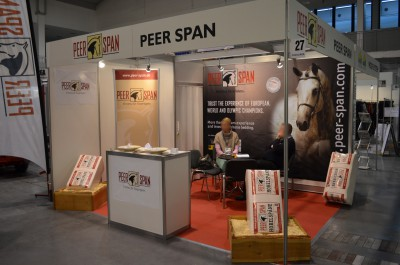 Company stand PEER-SPAN GmbH on trade show CAVALIADA 2014