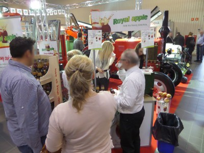 Company stand Activ  Sp. z o.o. on trade show MTAS 2015