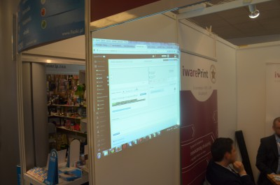 Company stand IWARE Sp. z o.o. on trade show RemaDays Warsaw 2015