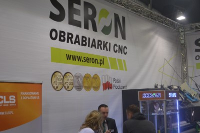 Company stand SERON Sp.j. on trade show RemaDays Warsaw 2015
