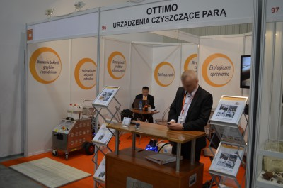 Company stand Ottimo on trade show Expo Sweet 2015