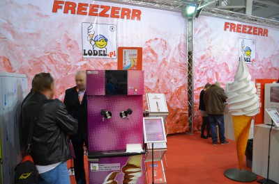 Company stand LODEL on trade show Expo Sweet 2015