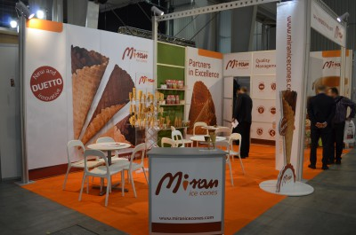 Company stand Miran Wafel Sp. z o.o. on trade show Expo Sweet 2015