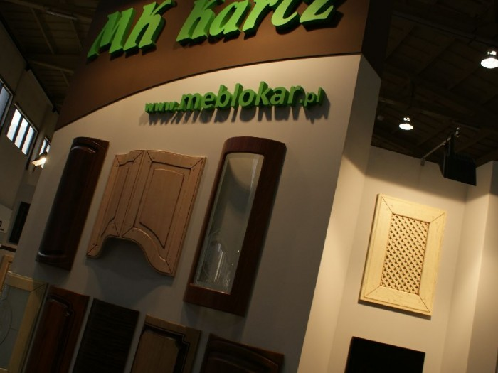 Company stand MK KARCZ MEBLOKAR on trade show FURNICA 2011