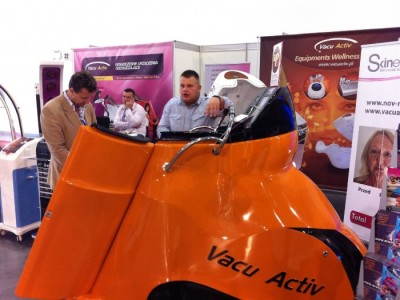 Company stand VACU ACTIV on trade show Fit - Expo 2011