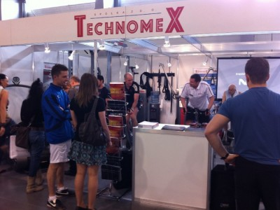 Company stand TECHNOMEX Sp. z o.o. PHU on trade show Fit - Expo 2011