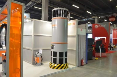 Company stand KEMPER SYSTEM GmbH & Co KG on trade show STOM-TOOL & STOM-BLECH & STOM-LASER & SPAWALNICTWO 2015