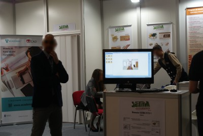 Company stand SEMA GmbH on trade show BUDMA 2015