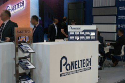 Company stand PANELTECH Sp. z o.o. on trade show BUDMA 2015