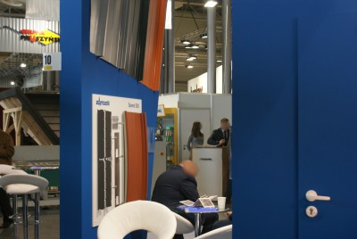 Company stand EURAMAX Coated Products BV on trade show BUDMA 2015