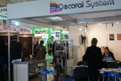 Company stand DECORAL SYSTEM s.r.l. - DECORATION PLANT on trade show BUDMA 2015