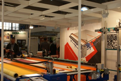 Company stand REXEL s.c. PPUH on trade show WINDOOR-TECH 2015