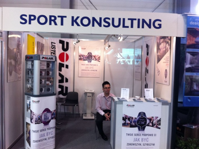 Company stand SPORT KONSULTING on trade show Fit - Expo 2011
