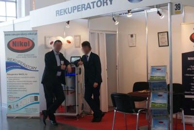 Company stand NIKOL Jan Nikołajuk on trade show BUDMA 2015