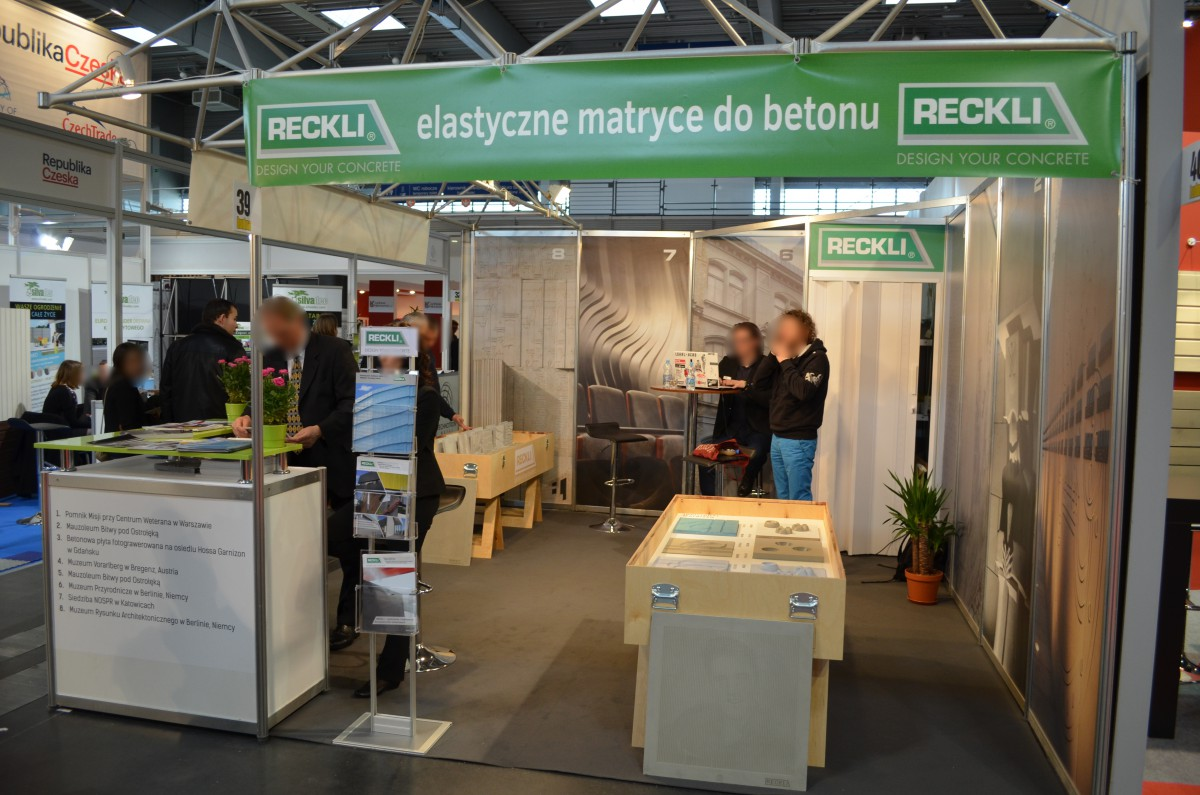 Company stand RECKLI POLSKA on trade show BUDMA 2015