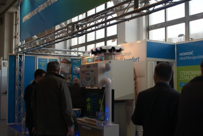 Company stand PRO-VENT Systemy Wentylacyjne on trade show BUDMA 2015