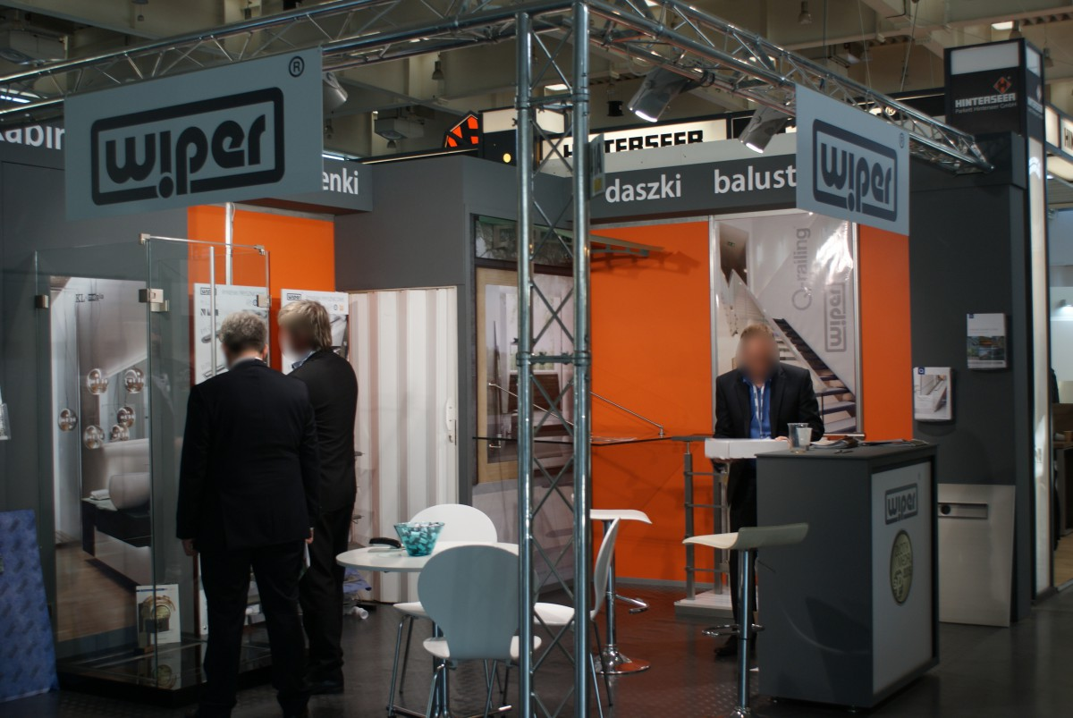 Company stand WIPER Sp. z o.o. on trade show BUDMA 2015