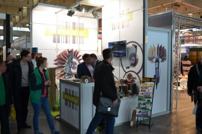 Company stand POLISHSTYL Agata Szkutnik on trade show BUDMA 2015