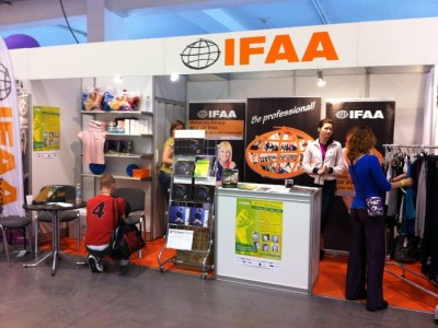 Company stand IFAA Polska Sp.j.  on trade show Fit - Expo 2011