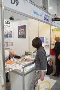 Company stand DENTAL BP on trade show KRAKDENT 2015