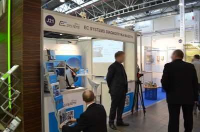 Company stand EC SYSTEMS Sp. z o.o. on trade show AUTOMATICON WARSZAWA 2015