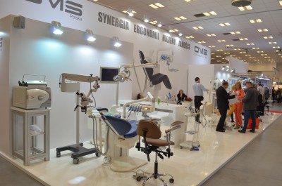 Company stand OMS Polska Ltd. Sp. z o.o. on trade show KRAKDENT 2015