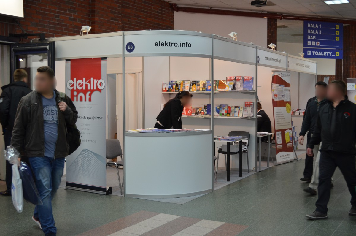 Company stand Elektro info on trade show AUTOMATICON WARSZAWA 2015