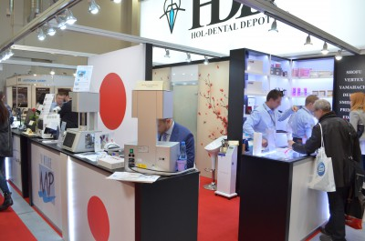 Company stand HOL-DENTAL DEPOT on trade show KRAKDENT 2015
