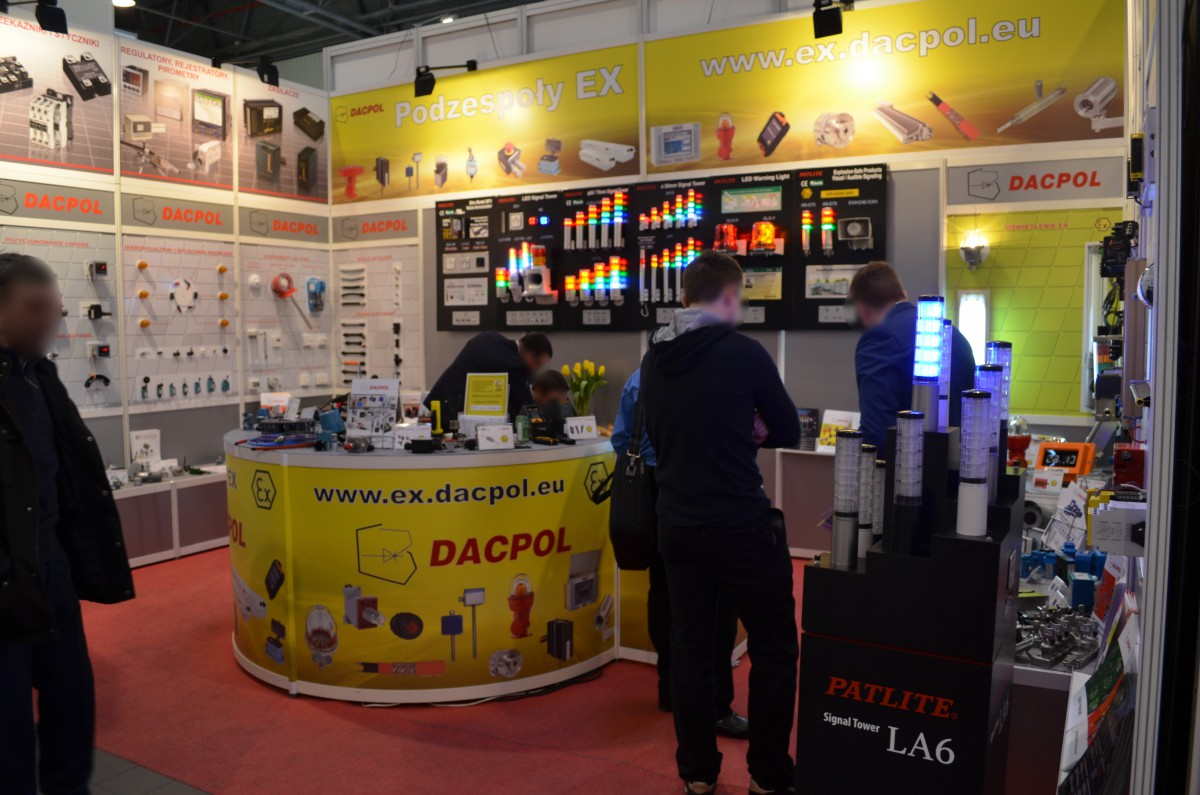 Company stand DACPOL SP. Z O.O. on trade show AUTOMATICON WARSZAWA 2015
