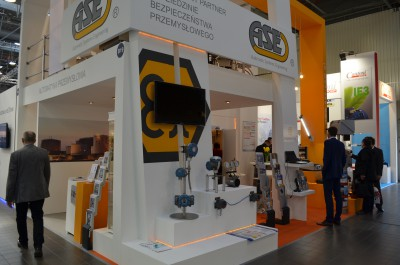 Company stand Automatic Systems Engineering Sp. z o.o. on trade show AUTOMATICON WARSZAWA 2015