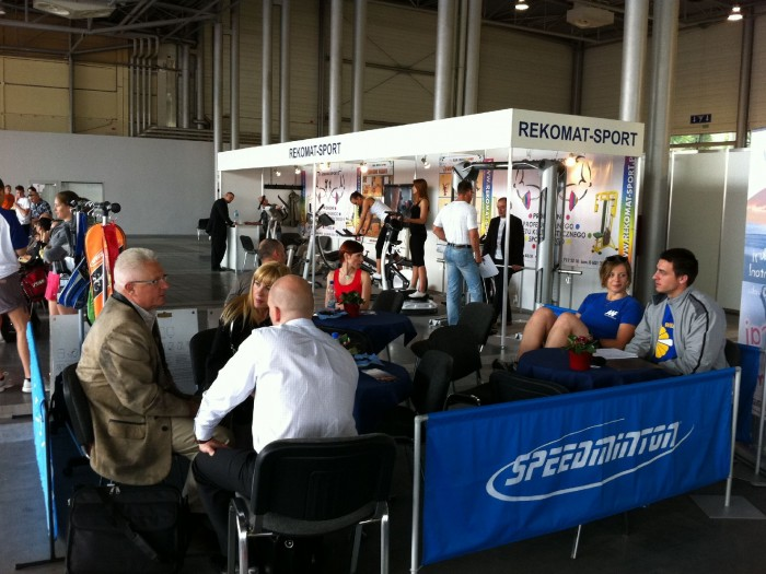 Company stand REKOMAT-SPORT on trade show Fit - Expo 2011